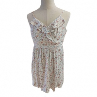 Buy cheap Summer Dress Beachwear Floral Print Casual Dress Women, Sleeveless Lady Strap Camisole Dresses from wholesalers