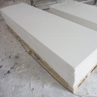 Buy cheap Custom Pure White Acrylic Solid Surface Sheets Hotel Building Material from wholesalers