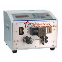 Buy cheap Fully Automatic AWG30-AWG14 PVC Wire Cutting And Stripping Machine from wholesalers