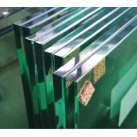 Buy cheap Durable 6.38 Clear Laminated Glass Sheets For Swimming Pools / Balcony Doors from wholesalers