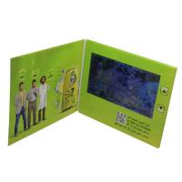 Buy cheap A5 Size LCD Video Card , 500mA Battery LCD Video Business Cards 7 Inch from wholesalers