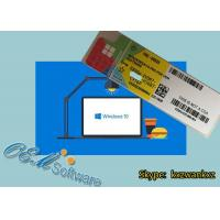 Buy cheap Computer Windows 10 Oem Coa Sticker Win 10 Professional Hologram Label License from wholesalers