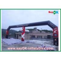 Buy cheap PVC Entrance Inflatable Arch , Inflatable Finishing Line Arch Logo Printing from wholesalers