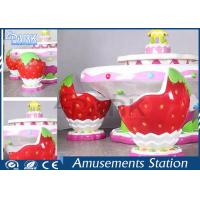 Buy cheap Kids Indoor Playground Equipment Amusement Game Machines Strawberry Sand Table from wholesalers