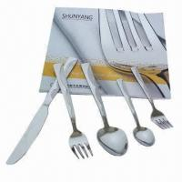 Buy cheap Stainless Steel Cutlery Set in Modern Design, Customized Combinations are Welcome from wholesalers