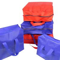 Buy cheap Foldable Jumbo Quilt Non Woven Storage Bag For Blankets And Pillows Save Space from wholesalers