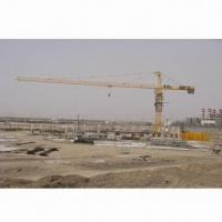 Buy cheap 6016 Tower Crane, 10T Maximum Load, 60m Jib Length, 1.6T Tip Load, 50.5m Free Standing Height from wholesalers