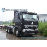 Buy cheap 420 HP Sinotruk HOWO A7 Tractor Truck Heavy Prime Mover AMT Gearbox Diesel Fuel Type from wholesalers