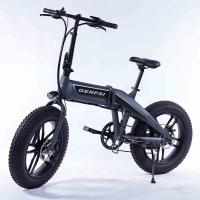 Buy cheap 20 Inch Folding Fat Tire Electric Bike With Hidden Battery For Adults from wholesalers