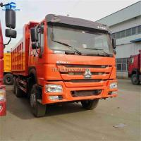 Buy cheap Year 2014 Sinotruck Used Howo Dump Truck 375hp With Euro 3 Emission Standard from wholesalers
