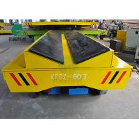 Buy cheap 15-30 ton Electric Powered Material Handling Platform Steel Coil Transport Cars On Rail from wholesalers
