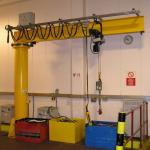 Buy cheap Button Control 6 Ton Jib Crane Time Saving Material Handling Equipment from wholesalers