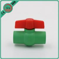 Buy cheap Multipurpose Plastic Ball Valves And Fittings Smooth Internal Surface from wholesalers