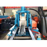 Buy cheap Storage Shelf Beam Rack Cable Tray Roll Forming Machine Hydraulic Mould Cutting from wholesalers