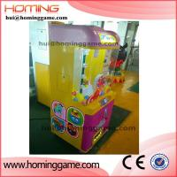 Buy cheap Candy Vending Machine prize toy catcher machine arcade toy catcher machine electric toy crane claw m(hui@hominggame.com) from wholesalers