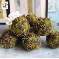 Buy cheap UVG arts and crafts artificial moss ball fake garden stone for wedding event decoration GRS043 from wholesalers
