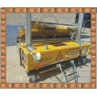 Buy cheap Exterior Concrete Wall Coating Plaster Machine 4mm - 30mm Thick from wholesalers