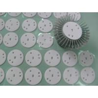 Buy cheap High Power LED Lights Thermal Gap Fillers , Glass Fiber Backing Conductive Silicone Rubber from wholesalers