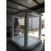 Buy cheap Waterproof Emergency Mobile Hospital Medical Disinfection Transparent  Inflatable Tent from wholesalers
