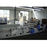 Buy cheap Tissue Paper Slitting And Rewinding Machine Automatic Core Pulling Remote Control product