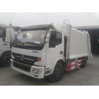 Buy cheap 2017s new best price Dongfeng 4*2 compression garbage truck, factory sale dongfeng 6cbm compactor garbage truck from wholesalers