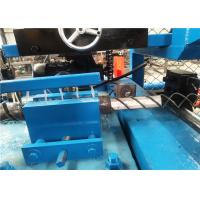 Buy cheap Two Wire Galvanized Automatic Chain Link Fencing Machine , Diamond Mesh Machine from wholesalers