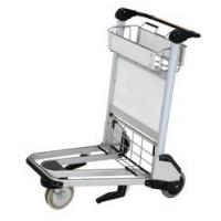 Buy cheap Durable Airport Baggage Trolley , Airport Push Cart Three - Wheel Nature Rubber from wholesalers