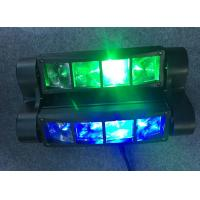 Buy cheap Sharpy 4in1 8pcs*10W LED Scanner Spider Stage Disco Moving Head Light from wholesalers
