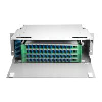 Wholesale Outdoor 48 Port ODF Optical Distribution Frame IP66 Mild Steel Fiber Optic Patch Panel from china suppliers