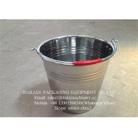 Buy cheap Stainless Steel Milk Bucket For Liquid Transporting , Steel Milk Pail from wholesalers