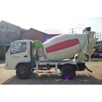 Wholesale Left Drive 2m3 3m3 4m3 Concrete Mixing Truck Front Load Stable Performance For Bridge Construction from china suppliers