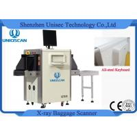 China High Definition Handbag X Ray Baggage Scanner Singel Energy Check Point on sale