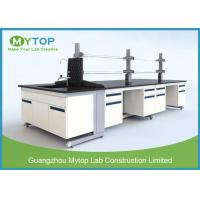 Buy cheap All Steel C Frame Lab Tables And Furnitures With Sink For Cleanroom Anti - Corrosion from wholesalers