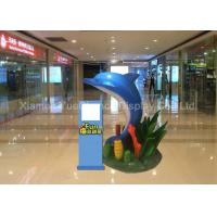 Buy cheap Indoor Life Size Fiberglass Animals , Fiberglass Dolphin Sculpture Jumping Shape from wholesalers