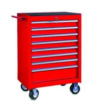 Buy cheap 8 Drawer Stainless Steel Tool Chest Roller Cabinet Coated with Red High Glossy (THD-27081) from wholesalers