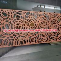 China Good design laser cut steel panel on sale