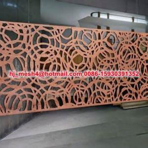 China Good design laser cut steel panel on sale