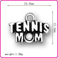 Buy cheap Tennis letters tennis MOM Jewelry Accessories from wholesalers
