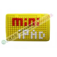Wholesale Yellow Round Dot DIY jigsaw puzzle Mini iPad Silicone Cases for iPAD from china suppliers