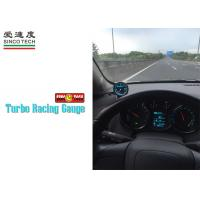 Buy cheap High Accuracy Turbo Boost Gauge 60 MM Fast Responsive Gray Blue Backlight from wholesalers