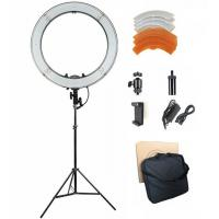Buy cheap 55W 5500K 18inch Dimmable LED Ring Light Kit with Carry bag, Light Stand for Video Photography Blogging Portrait from wholesalers