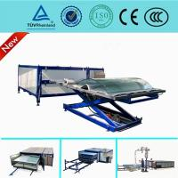 Buy cheap EVA Curved Laminated Glass Machine , Industrial Laminating Machine Autoclave Free from wholesalers