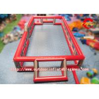Buy cheap Customised Inflatable Sports Games , Inflatable Football Field For Children from wholesalers