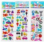Buy cheap DIY decorative custom puffy stickers , cartoon foam PVC cute puffy stickers from wholesalers