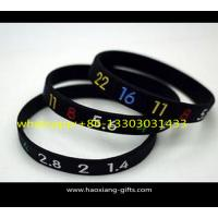 Buy cheap Promotional high quality fitness sports debossed custom silicone wristband from wholesalers