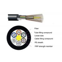 Buy cheap ADSS Multimode Outdoor Fiber Optic Cable 2 - 288 Cores Self - Support Type from wholesalers