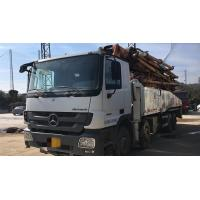 Buy cheap 8×4 Drive Mode Used Concrete Pump Truck BENZ-ZOOMLION Brand With 52m Pump from wholesalers