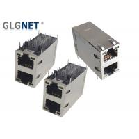 Buy cheap Right Angle Rj45 Jack Connector , 5G Networking Connector With LED 5 Channels PHY from wholesalers