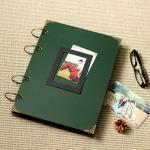 Buy cheap Large Photo Album/ Scrapbook Album // Wedding Album // Wedding Guest Book/Dark green scrap from wholesalers