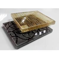 Buy cheap Multi Pattern Acid Etched Glass , Figured Textured Fabric Laminated Glass from wholesalers